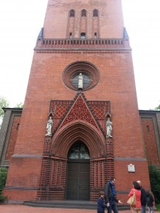 The Spirit moved me to Sankt Marien Katholische Kirche in Hannover, Germany for Sunday Mass.
